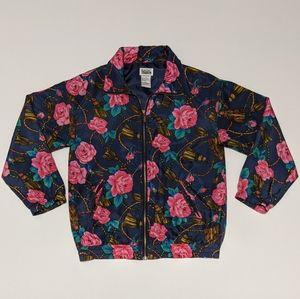 Vintage Basic Edition Silk Windbreaker Jacket